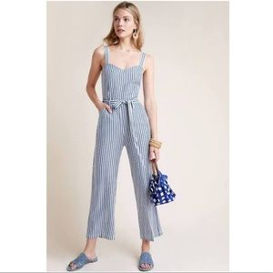Paige Emma Striped Jumpsuit by Paige